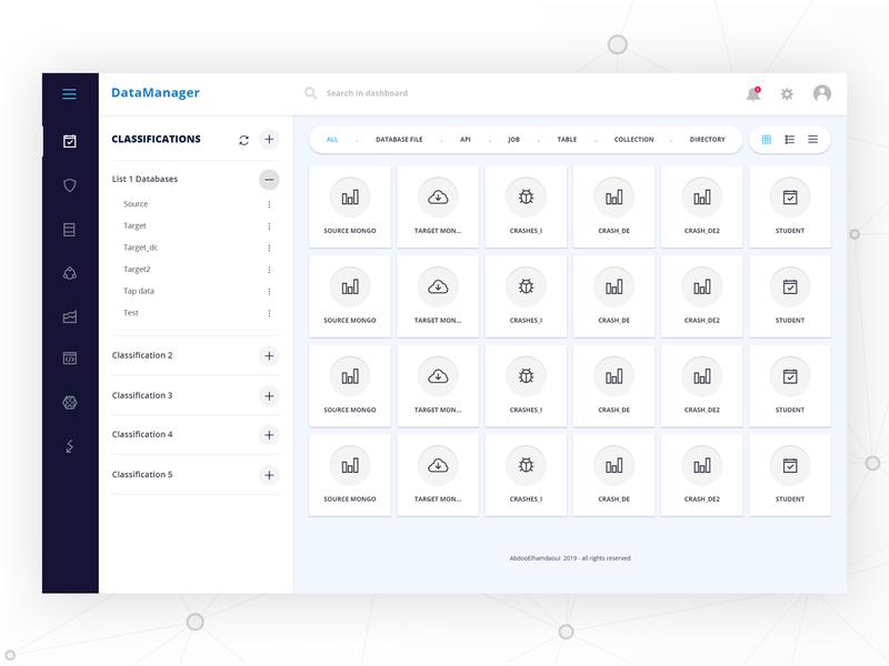Data_manager Dashboard UI Design widgets admin manager data analytic dash dashboard design dashboard ui dashboad ux clean creative web design ui design