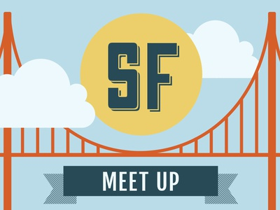 Meet up Header 2 header holden gate bridge illustration sf
