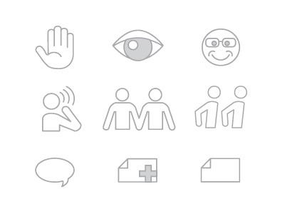 Geek Icons icons outline