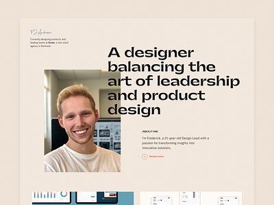My portfolio personal case study web design cases portfolio