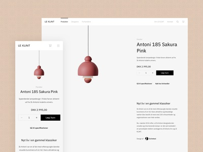 A data-informed facelift ibm plex 🔥 webshop danish ecommerce lamps