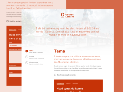 Landing Page for Railway