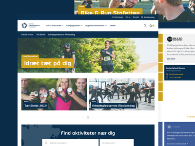 Danish Company Sports Association rebrand association sport redesign