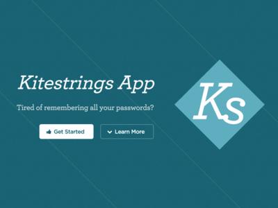 Kitestrings Landing Page