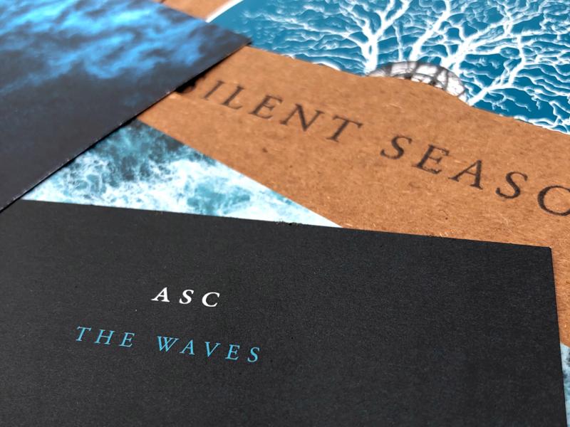 Silent Season CD Artwork Final design cd cd sleeve cd cover