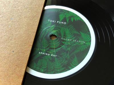 Silent Season Vinyl by Toki Fuko record vinyl