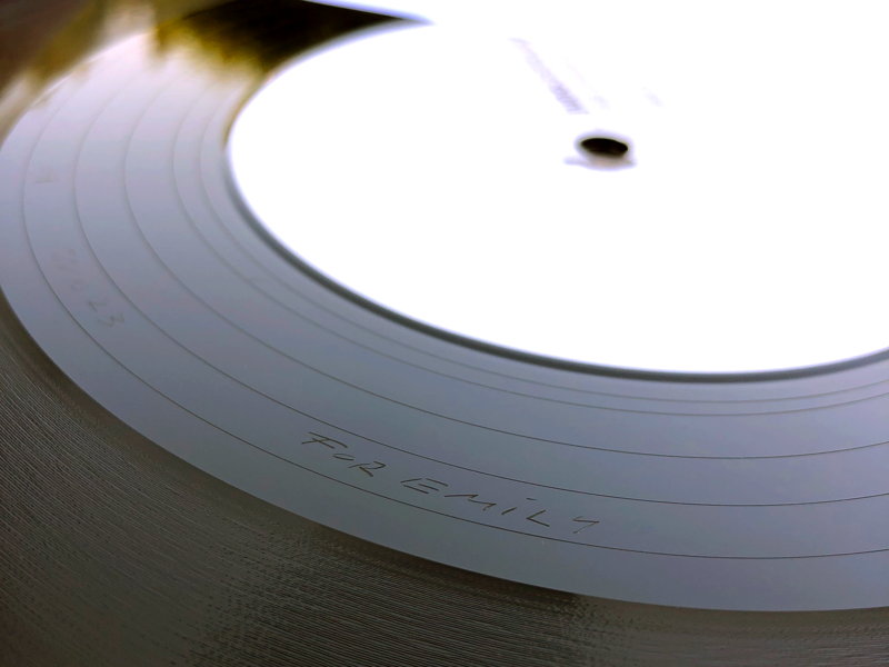 Silent Season Vinyl Test Pressing record vinyl
