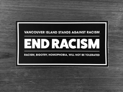 End Racism Sticker