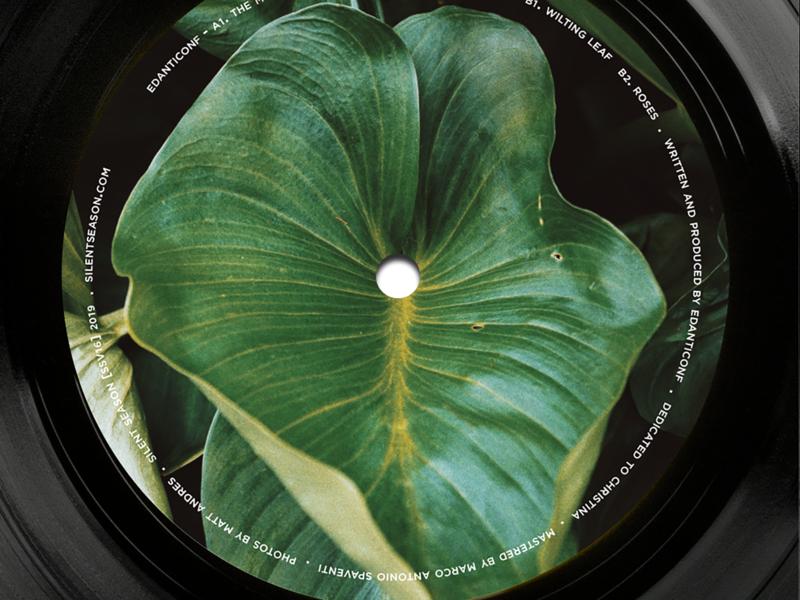 "Edanticonf ~ Silent Season 12"" record vinyl record vinyl"