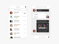 Direct Messaging - Daily UI #013