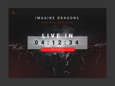 Countdown Timer - Daily UI #014 timer countdown website webdesign web ui dailyui 014