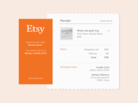 Email Receipt - Daily UI #017