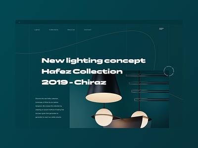 Exploration - 11 uxui webdesign landingpage uxui ux artistic direction ui hafez lightning lighting lights ligth