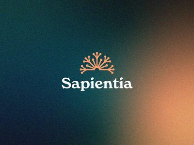 Branding - 01 medecine adhd fire noise gradient noise gradient science sapiensa sapientia sapiens fleurs fleur flower pissenlit dandelion typography symbol branding logo