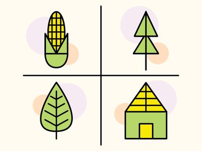 Illustration Challenge 4/5: Icons illustrator design illustration black icons flat line vector