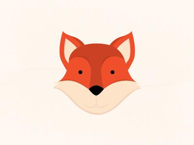 Fox animal art illustrative adobe illustrator animal icons illustration design line flat vector