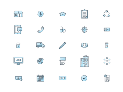 Health System Icon Set