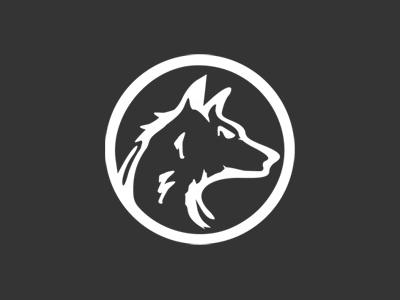 Ninety-Niners.com Wolf Logo white black wolf ninety-niners logotype logo