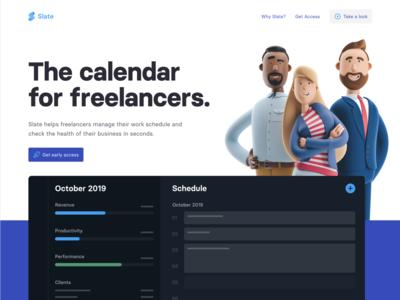 Slate Homepage