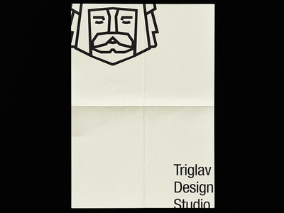 Triglav Studio project typography graphic art simple vector branding poster symbol graphic logo illustration studio design bulgaria