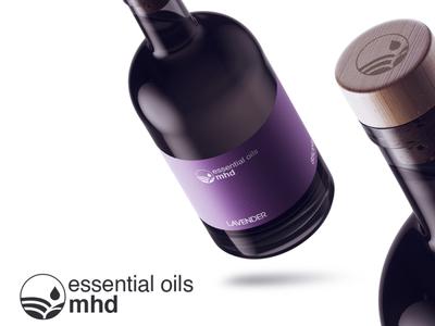 Essential oil brand design
