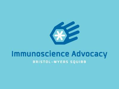 Immunoscience Advocacy Logo Concept advocacy design logo
