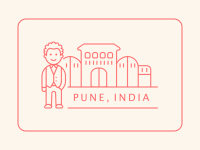 Sticker for Pune! (India)