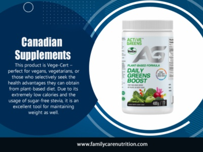 Canadian Supplements