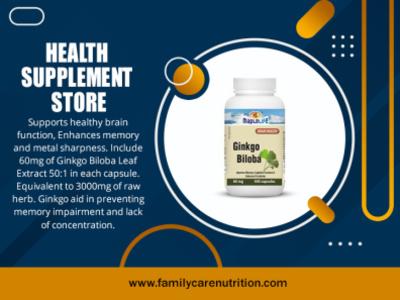 Health Supplement Store