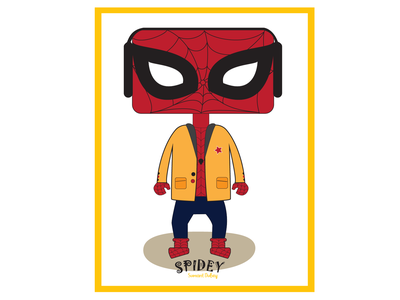 Spidey - Poster Art vector poster art design illustration