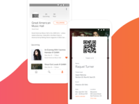 Eventbrite App - Profile & Tickets