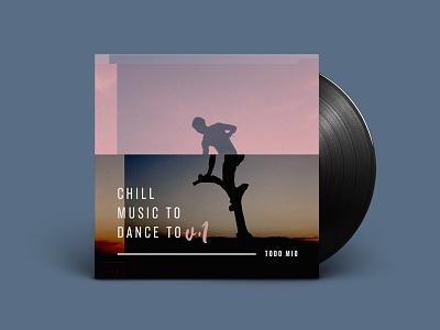 Chill Music 1 Mockup Scott Brookshire music chill knockout junior featherweight dj mixtape vinyl album art