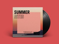 Summer Nites - Mixtape Art
