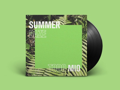 Summer Daze - Mixtape Art akzidenz grotesk condensed soundcloud nites summer music mixtape album art