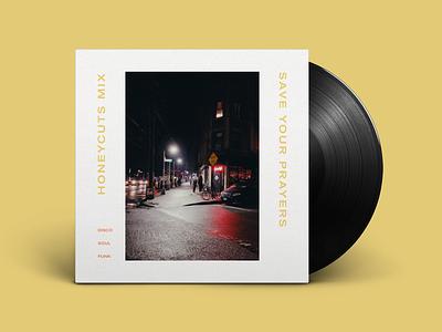Honeycuts Mixtape akzidenz grotesk extended extended type soundcloud album artwork album art mixtape mix