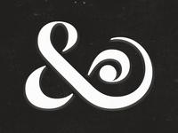 Textured Ampersand