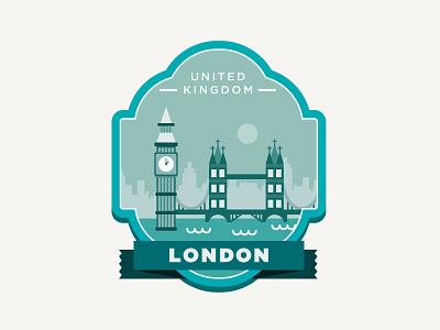Design Playoff #1: Travel united kingdom design place country city collaboration rebound playoff fun illustration london travel