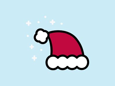 The Magic of Christmas vector illustration merry christmas magic hat santa hat santa christmas