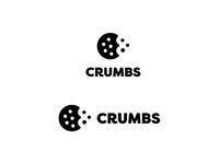 Crumbs logo black