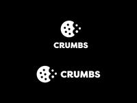 Crumbs logo white