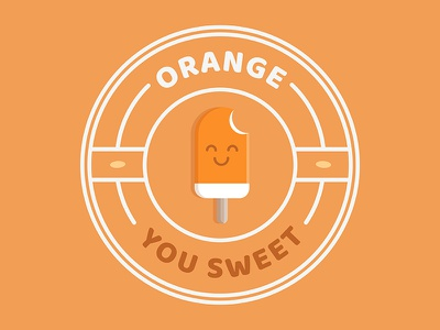 Punny Pops 001 foodie food funny sticker puns illustration popsicles popsicle