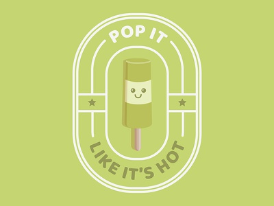 Punny Pops 002 foodie food funny sticker puns illustration popsicles popsicle