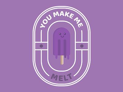 Punny Pops 006 foodie food funny sticker puns illustration popsicles popsicle