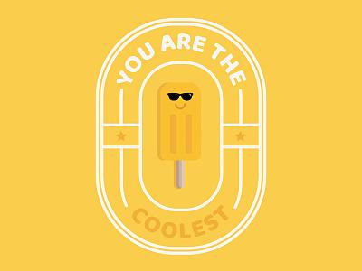 Punny Pops 008 foodie food funny sticker puns illustration popsicles popsicle