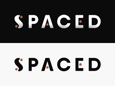 SPACED illustration outer space space logo spaced challenge spaced