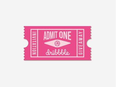 Dribbble Invites! giveaway best shot dribbble best shot dribbble invite dribbble invites ticket illustration invitation invite draft