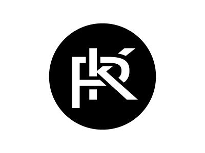Teen Camp Logo logo initials p k parish camp teen circular black  white