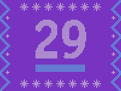 Christmas Stitching snowflake illustration 29 holiday pattern stitching ugly sweater
