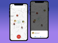 Location Sharing App + Panic Button