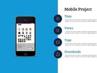 Mobile Project Slide